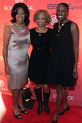 13 September 2010- New York, NY- l to r: Michelle Ebanks, Esi Eggleston Bracey and Mikki Taylor at Essence Magazine's Fierce & Fabulous Awards Luncheon honoring exceptional Women who are making a difference in the world sponsored by Buick and Clinique held at The Mandarian Oriental on September 13, 2010 in New York City. Photo Credit: Terrence Jennings