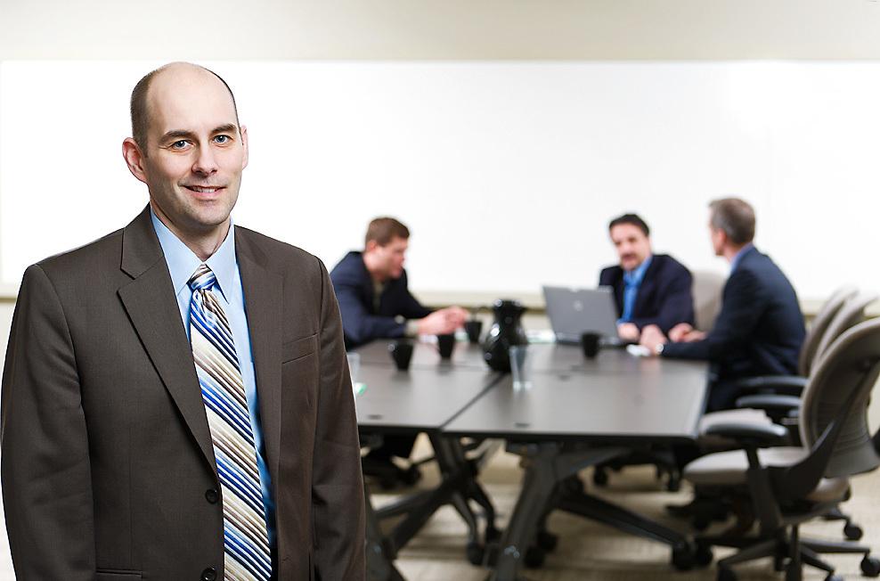 AFSC Office and staff portraits, Jason Turner