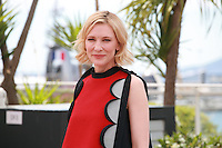 Actress Cate Blanchett at the photocall for the film How to Train Your Dragon 2 at the 67th Cannes Film Festival, Friday 16th May 2014, Cannes, France.