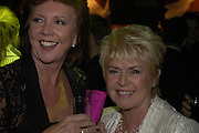 Cilla Black and  Gloria Hunniford, The Woman in White, Opening night party. Charing Cross Rd. 15 September 2004. SUPPLIED FOR ONE-TIME USE ONLY-DO NOT ARCHIVE. © Copyright Photograph by Dafydd Jones 66 Stockwell Park Rd. London SW9 0DA Tel 020 7733 0108 www.dafjones.com