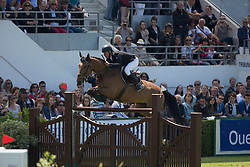 Bost Roger Yves (FRA) - Nikyta D'Elle <br /> Derby de la région des Pays de la Loire<br /> Longines Jumping International La Baule 2014<br /> © Hippo Foto - Dirk Caremans