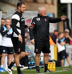 Manager of Hartlepool United Ronnie Moore - Mandatory byline: Robbie Stephenson/JMP - 07966386802 - 05/09/2015 - FOOTBALL - Adams Park Stadium -Wycombe,England - Wycombe Wanderers v Hartlepool United - Sky Bet League Two