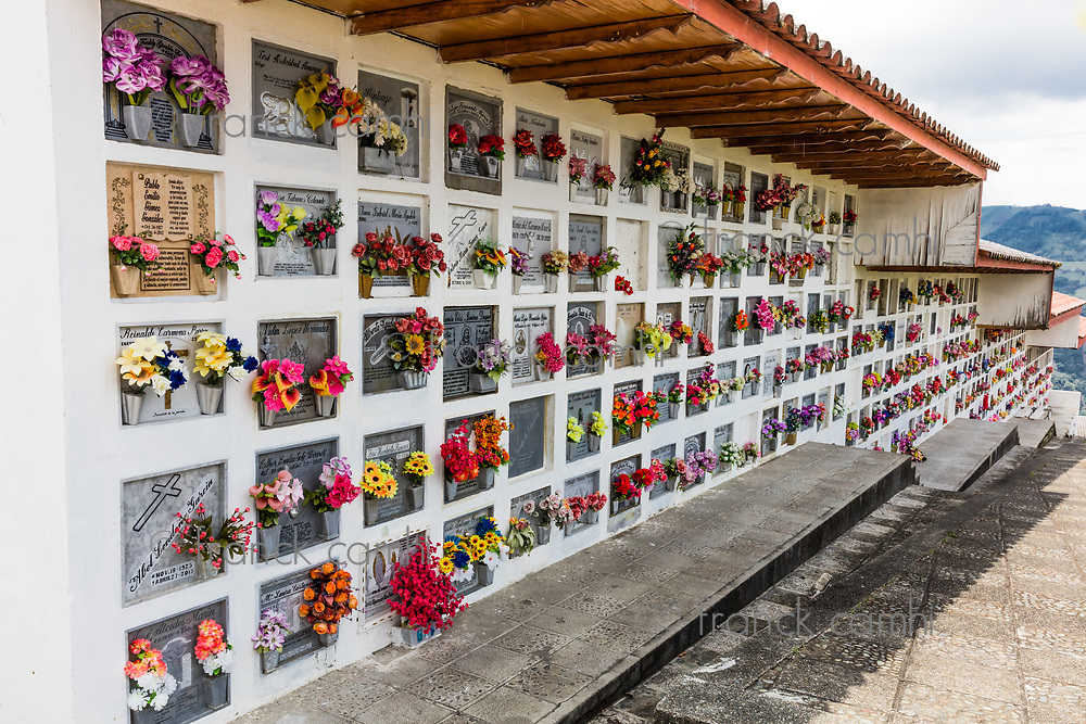 Salamina , Colombia  - February 20, 2017 : Salamina Caldas in Colombia South America