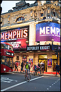 Memphis, The Musical. Press night and after party. Shaftesbury Theatre, London WC2 and party at Floridita, Wardour st. Soho.