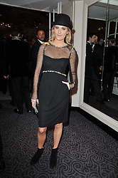 LADY KINVARA BALFOUR at Quintessentially's 10th birthday party held at The Savoy Hotel, London on 13th December 2010.