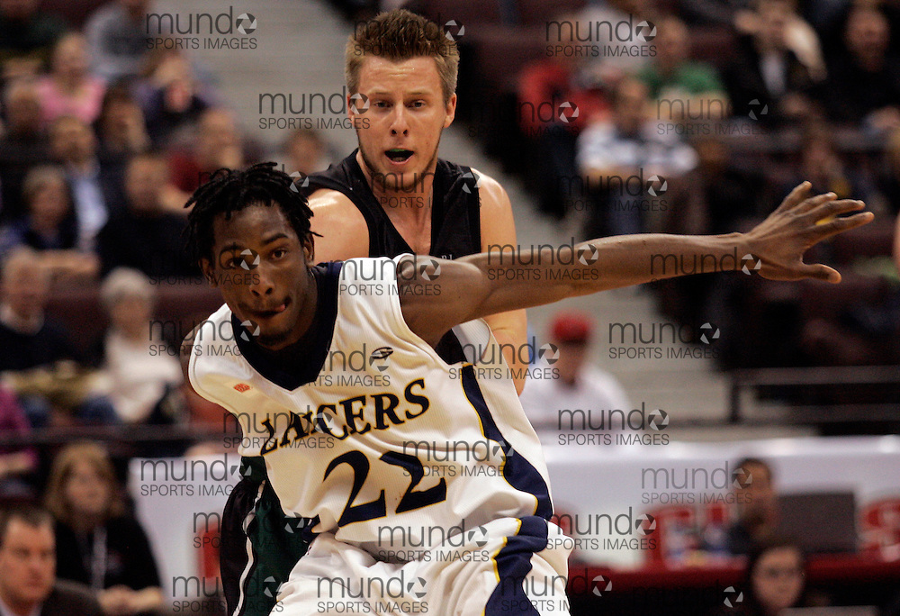 CIS Basketball Champioships-Ottawa, March 19, 2010, Windsor Lancers-Lien Phillip