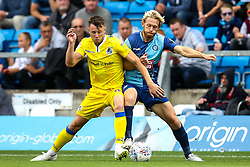 Ollie Clarke of Bristol Rovers takes on Craig Mackail-Smith of Wycombe Wanderers - Mandatory by-line: Robbie Stephenson/JMP - 18/08/2018 - FOOTBALL - Adam's Park - High Wycombe, England - Wycombe Wanderers v Bristol Rovers - Sky Bet League One