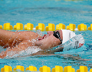 Belo Horizonte _ MG, Brasil...Copa do Mundo de Natacao 2007. Na foto nadador Thiago Pereira, do Brasil, vencedor da prova de 400m medley, em Belo Horizonte...Swimming World Cup 2007. In this photo the swimmer Tiago Pereira, of Brazil, He is the champion in the 400m medley, in Belo Horizonte...Foto: LEO DRUMOND / NITRO