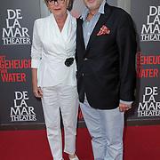 NLD/Amsterdam/20120617 - Premiere Het Geheugen van Water, Marianne van Wijnkoop en Frans Mulder