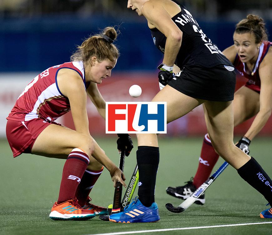 AUCKLAND - Sentinel Hockey World League final women<br /> Match id: 10300<br /> 10 New Zealand v USA<br /> Foto: Lauren Moyer.<br /> WORLDSPORTPICS COPYRIGHT FRANK UIJLENBROEK