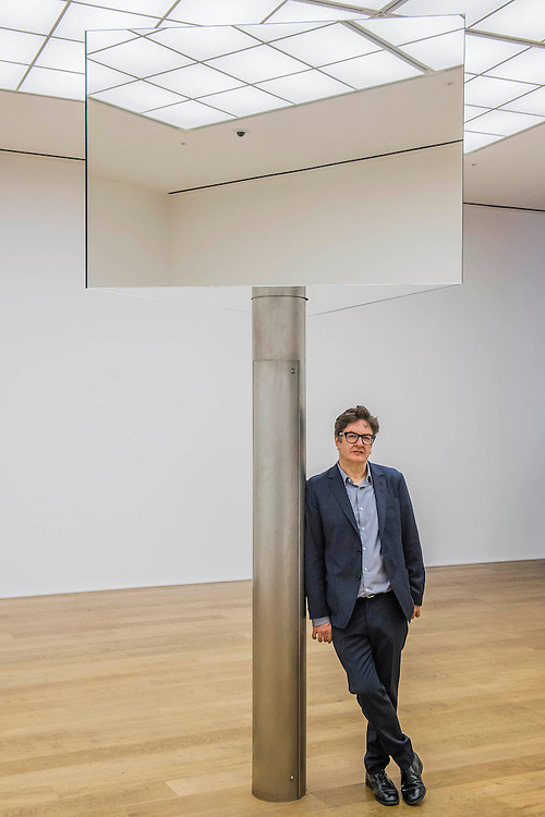 Supergo 2016 - The3 ID series - Turner prize winning artist, Mark Wallinger (pictured), opens major solo show of all new works at Hauser & Wirth London, UK 25 Feb 2016