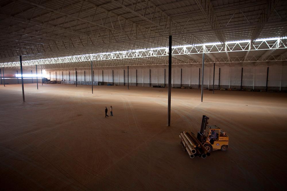 Varginha_MG, Brasil...Contruçao do novo porto seco de Varginha, Minas Gerais...Construction of the new dry port in Varginha, Minas Gerais...Foto: LEO DRUMOND / NITRO