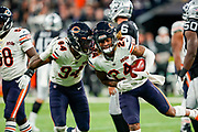 Buster Skrine (DB) of the Chicago Bears recovers a fumble, which is later overturned during the International Series match between Oakland Raiders and Chicago Bears at Tottenham Hotspur Stadium, London, United Kingdom on 6 October 2019.