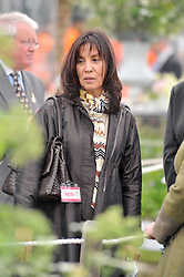 OLIVIA HARRISON at the RHS Chelsea Flower Show 2009 held inthe gardens of the Royal Hospital Chelsea on 18th May 2009.