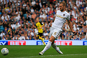 Leeds United defender Liam Cooper (6) during the EFL Sky Bet Championship match between Leeds United and Burton Albion at Elland Road, Leeds, England on 9 September 2017. Photo by Richard Holmes.
