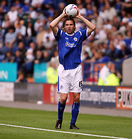 Photo: Chris Ratcliffe.<br />Leicester City v Ipswich Town. Coca Cola Championship. 12/08/2006.<br />Nils-Eric Johansson of Leicester.