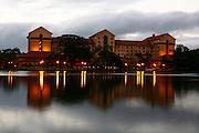 Araxa_MG, Brasil.<br /> <br /> Ouro Minas Grande Hotel no Complexo do Barreiro.<br /> <br /> Ouro Minas Grande Hotel in Barreiro Complex.<br /> <br /> Foto: LEO DRUMOND / NITRO