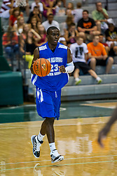 23 June 2012: Anthony Beane.  Illinois Basketball Coaches Association (IBCA) All Star game at Shirk Center, Illinois Wesleyan, Bloomington, IL