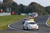 #123 Clothier / Thomson Renault Clio 197 Cup 2000 during the CSCC Tin Tops at Oulton Park, Little Budworth, Cheshire, United Kingdom. October 15 2016. World Copyright Peter Taylor/PSP. <br /> Copy of publication required for printed pictures.  Every used picture is fee-liable. http://archive.petertaylor-photographic.co.uk