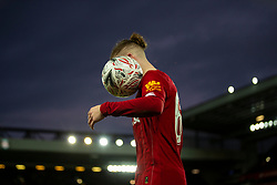 LIVERPOOL, ENGLAND - Sunday, January 5, 2020: Liverpool's Harvey Elliott during the FA Cup 3rd Round match between Liverpool FC and Everton FC, the 235th Merseyside Derby, at Anfield. (Pic by David Rawcliffe/Propaganda)