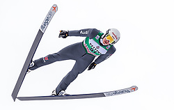 13.01.2019, Stadio del Salto, Predazzo, ITA, FIS Weltcup Nordische Kombination, Skisprung, im Bild Manuel Faisst (GER) // Manuel Faisst of Germany during Skijumping Competition of FIS Nordic Combined World Cup at the Stadio del Salto in Predazzo, Italy on 2019/01/13. EXPA Pictures © 2019, PhotoCredit: EXPA/ JFK