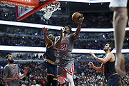 The Chicago Bulls v Cleveland Cavaliers