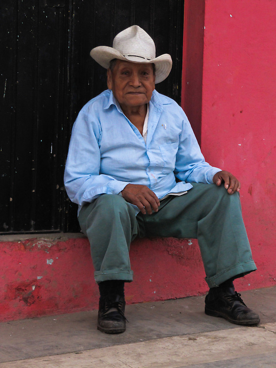 he looked so happy and content in Xico in the state of Veracruz, Mexico.