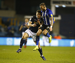 February 12, 2019 - London, England, United Kingdom - Sheffield Wednesday's Steven Fletcher.during Sky Bet Championship match between Millwall and Sheffield Wednesday at The Den Ground, London on 12 Feb 2019. (Credit Image: © Action Foto Sport/NurPhoto via ZUMA Press)