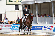 Steffen Frahm - Deveraux 3<br /> FEI World Breeding Dressage Championships for Young Horses 2012<br /> © DigiShots