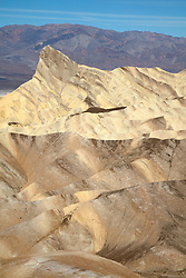 """Manly Beacon 2"" - Photograph taken from Zabriskie Point of Manly Point in Death Valley, California."