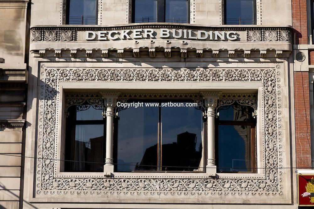 decker building in union square  New York, Manhattan - United states / decker building, union square  /