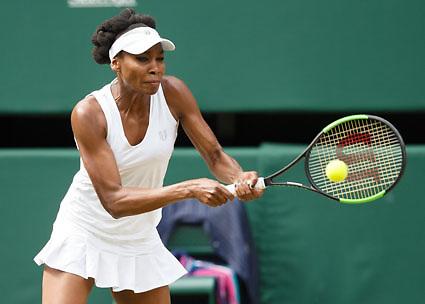 VENUS WILLIAMS (USA)<br /> <br /> Tennis - Wimbledon 2017 - Grand Slam ITF / ATP / WTA -  AELTC - London -  - Great Britain  - 13 July 2017.
