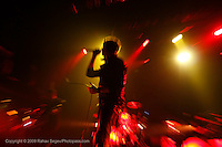 Julian Casablancas performing songs from his solo album Phrazes for the Young at Terminal 5 on January 14, 2010. .Photo Credit; Rahav Segev for The New York Times