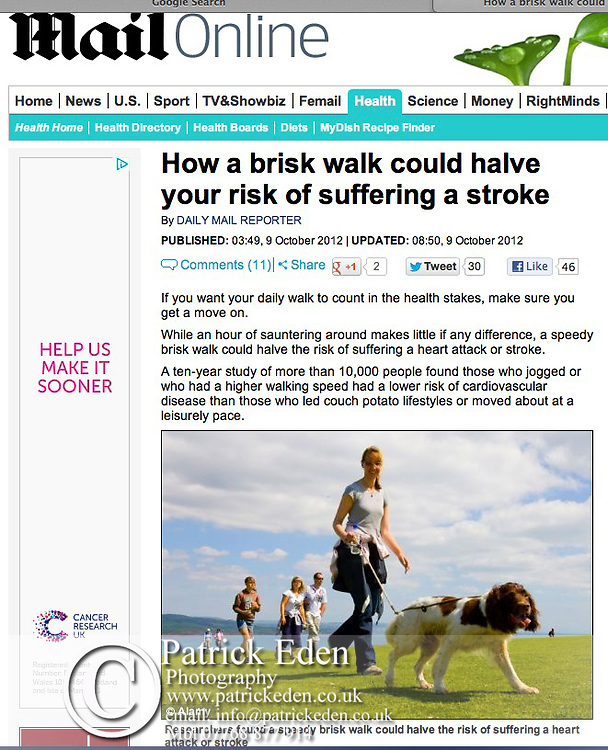 Isle of Wight Walking Festival, The Mail Online,