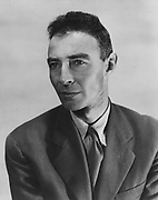 J. Robert Oppenheimer 1904 – 1967. American theoretical physicist and professor of physics at the University of California, Berkeley. He is best known for his role as the scientific director of the Manhattan Project, the World War I;I project that developed the first nuclear weapons.