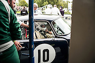 Goodwood Revival 2015m Les Goble as second driver in TT