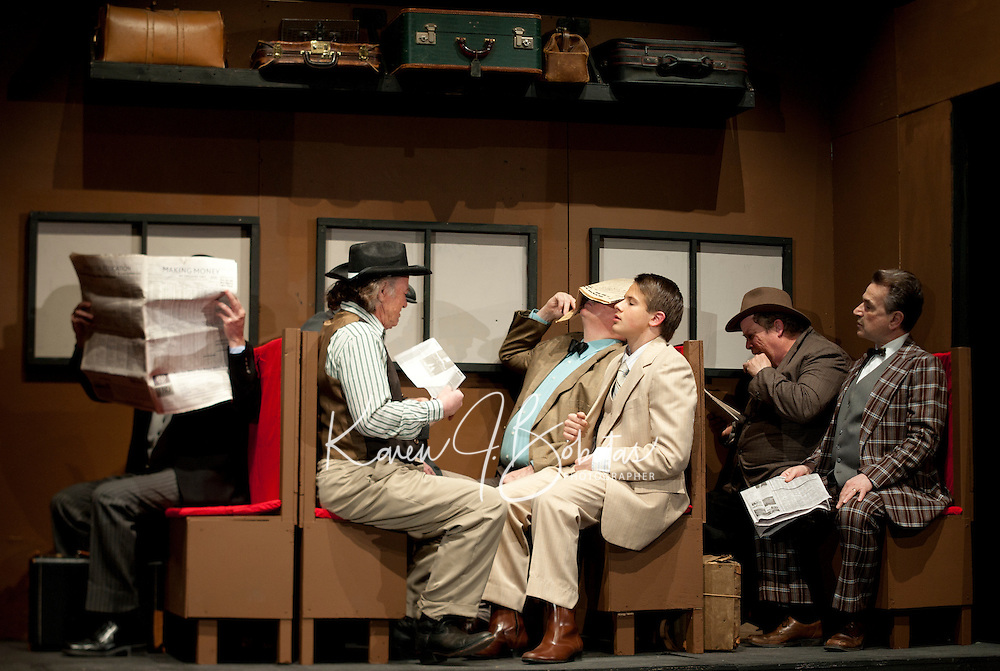 """The Music Man"" at Inter Lakes High School.   Karen Bobotas/for the Laconia Daily Sun"