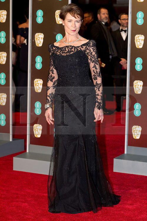 © Licensed to London News Pictures. 18/02/2018. CELIA IMRIE arrives on the red carpet for the EE British Academy Film Awards 2018, held at the Royal Albert Hall, London, UK. Photo credit: Ray Tang/LNP
