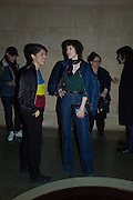 STEFANIA PALUMBO; ANNA BLESSMAN; CHRISTINA MACKIE;Opening for Nick Waplington's Alexander McQueen photography exhibition and Christina Mackie's Tate Britain Commission. Tate Britain. London. 23 March 2015