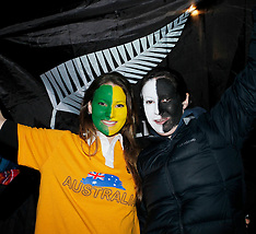 Christchurch-RWC, Fanzone New Zealand V Australia