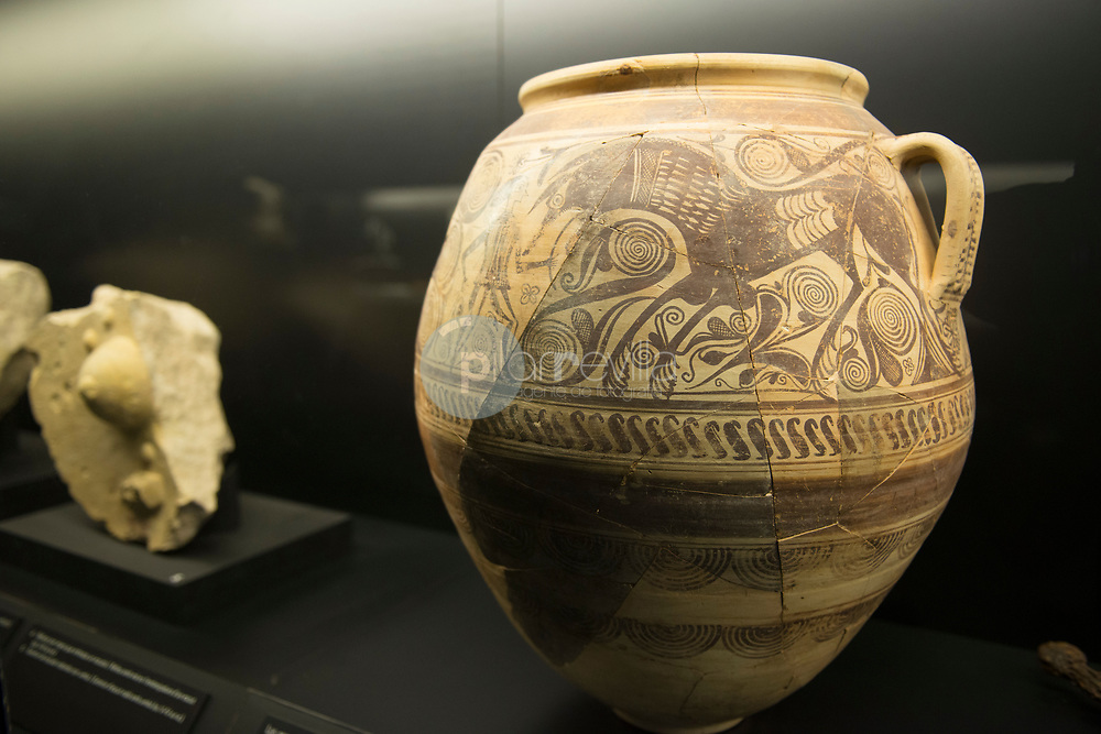 Interior del Museo. Ilici, ciudad romana. L'Alcudia. Elche. Alicante ©ANTONIO REAL HURTADO / PILAR REVILLA