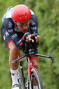 Fabio Aru (ITA - UAE Team Emirates) during the 101th Tour of Italy, Giro d'Italia 2018, stage 16, Trento - Rovereto 34.5 km on May 22, 2018 in Italy - Photo Ilario Biondi / BettiniPhoto / ProSportsImages / DPPI