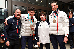 Behind the scenes, Les Coulisses in Club France at  the PyeongChang2018 Winter Paralympic Games, South Korea.
