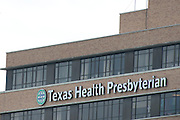A general view of Texas Health Presbyterian Hospital is seen where Ebola patient Thomas Eric Duncan is said to have died on October 8, 2014, in Dallas. (Cooper Neill for The New York Times)