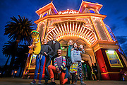 17/11/2012. Luna Park at night, twilight. Luna Park will celebrate it's 100th birthday on 13th December 2012..Picture By Craig Sillitoe. This photograph can be used for non commercial uses with attribution. Credit: Craig Sillitoe Photography / http://www.csillitoe.com<br />