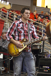02 January 2013:  Dustin Reynolds of Brushfire during an NCAA Missouri Vally Conference (MVC) mens basketball game between the Creighton University Bluejays and the Illinois State Redbirds in Redbird Arena, Normal IL