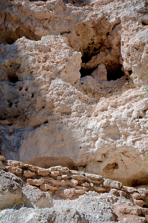 Section of ruins at Montezuma Castle - AZ