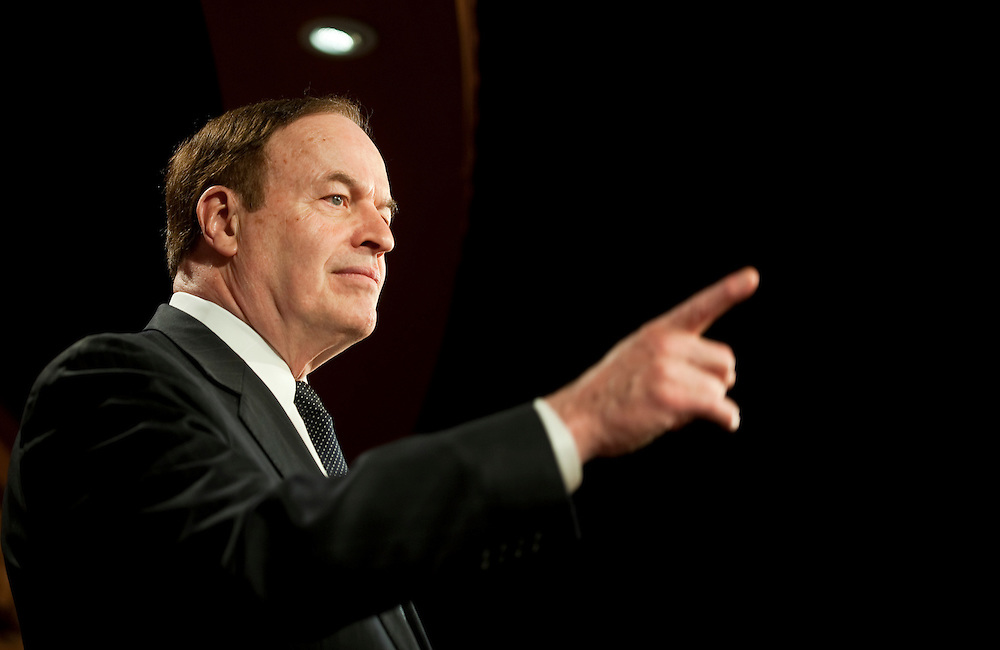 Apr 21,2010 - Washington, District of Columbia USA - .GOP Senator Richard Shelby speaks to the press Wednesday about coming together with the Democrats on the Wall Street Reform Legislation..(Credit Image: © Pete Marovich/ZUMA Press)