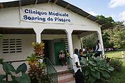 Projet ACOSME pour la santé mère-enfant en Haïti (projet de l'USI et du CECI, financement AMC). Clinique médicale Soaring de Pister. Département du Nord.