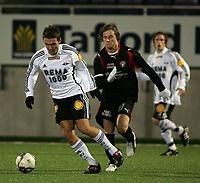 Fotball , 18. Januar 2009 , Color line cup , <br /> <br /> finale<br /> Rosenborg junior - FC midtjylland junior 1-4<br /> <br /> mads hvilsom - fc midtjylland<br /> christian nordgaard - rosenborg rekrutt<br /> <br /> Foto: Richard brevik, Digitalsport